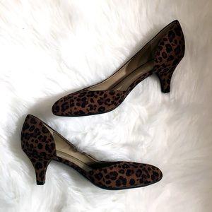 Naturalizer N5 Comfort Leopard Heels 7.5